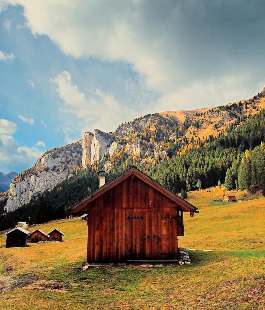 valli del trentino in autunno-val san nicolò