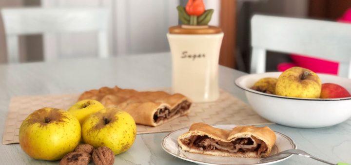ricetta dello strudel con mele e noci
