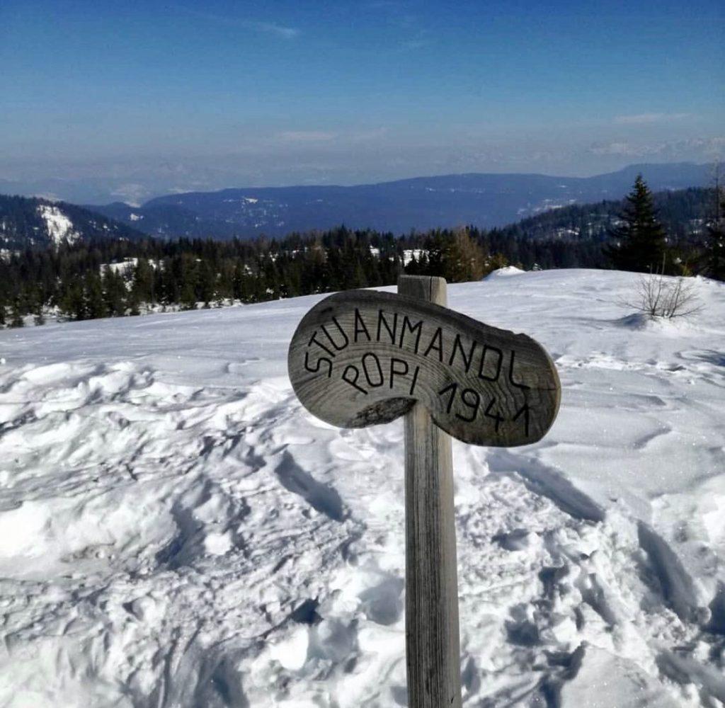 monte popi in inverno