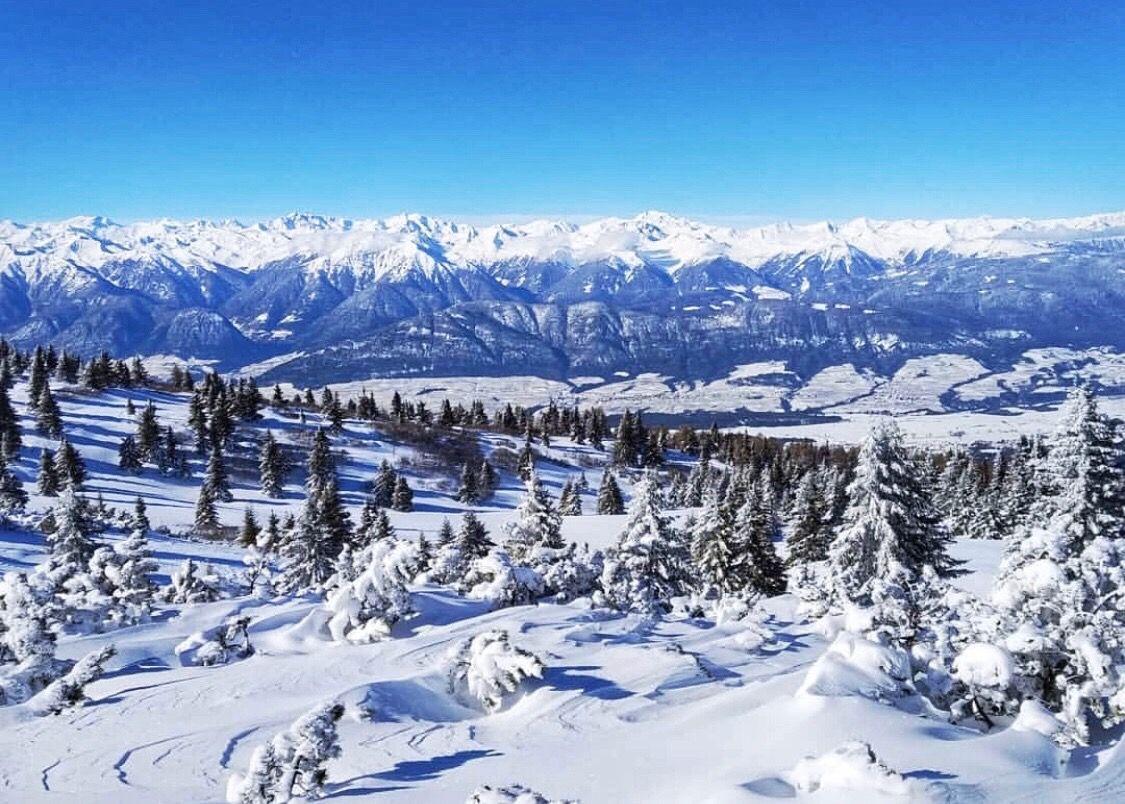 monte roen in inverno