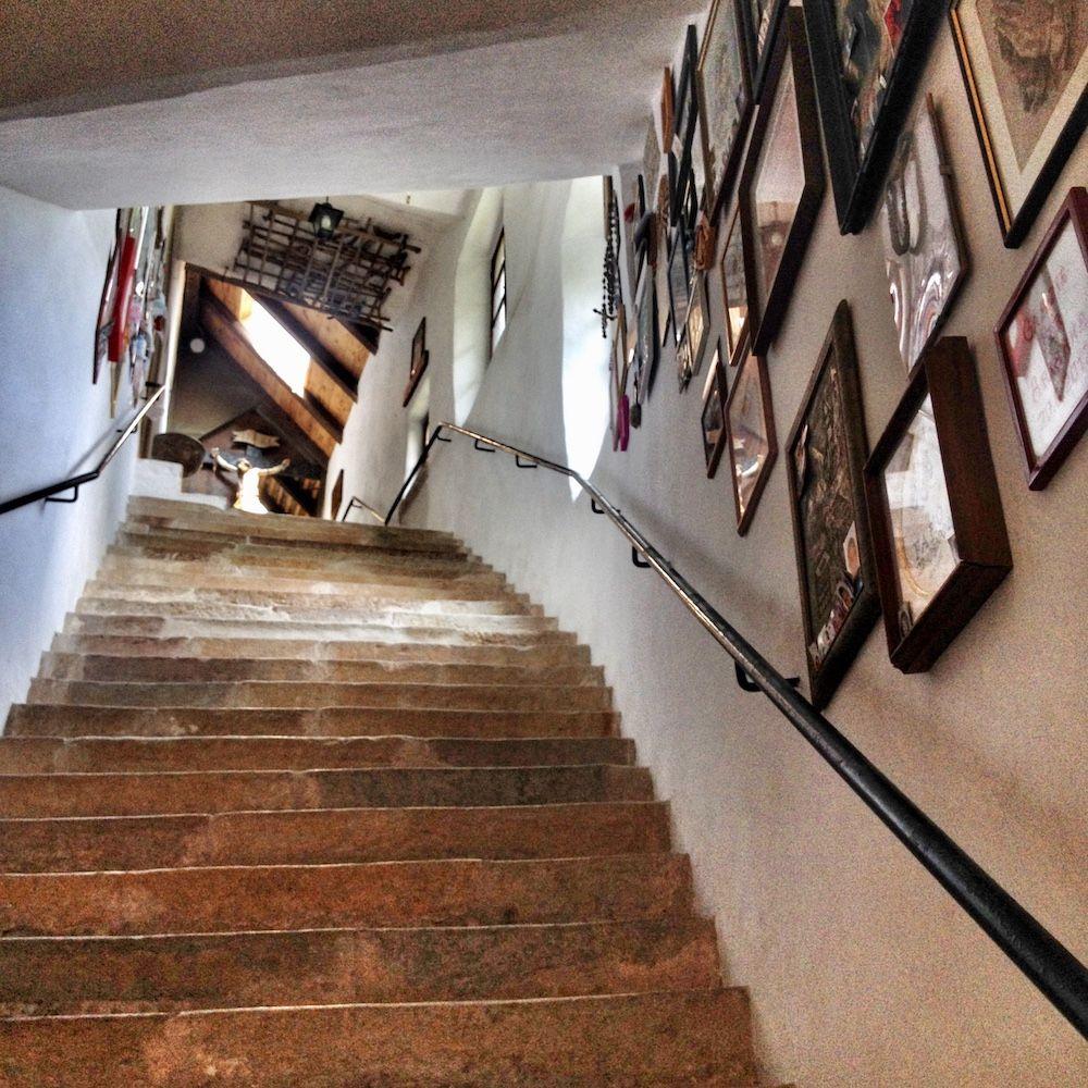 scalinata di san romedio