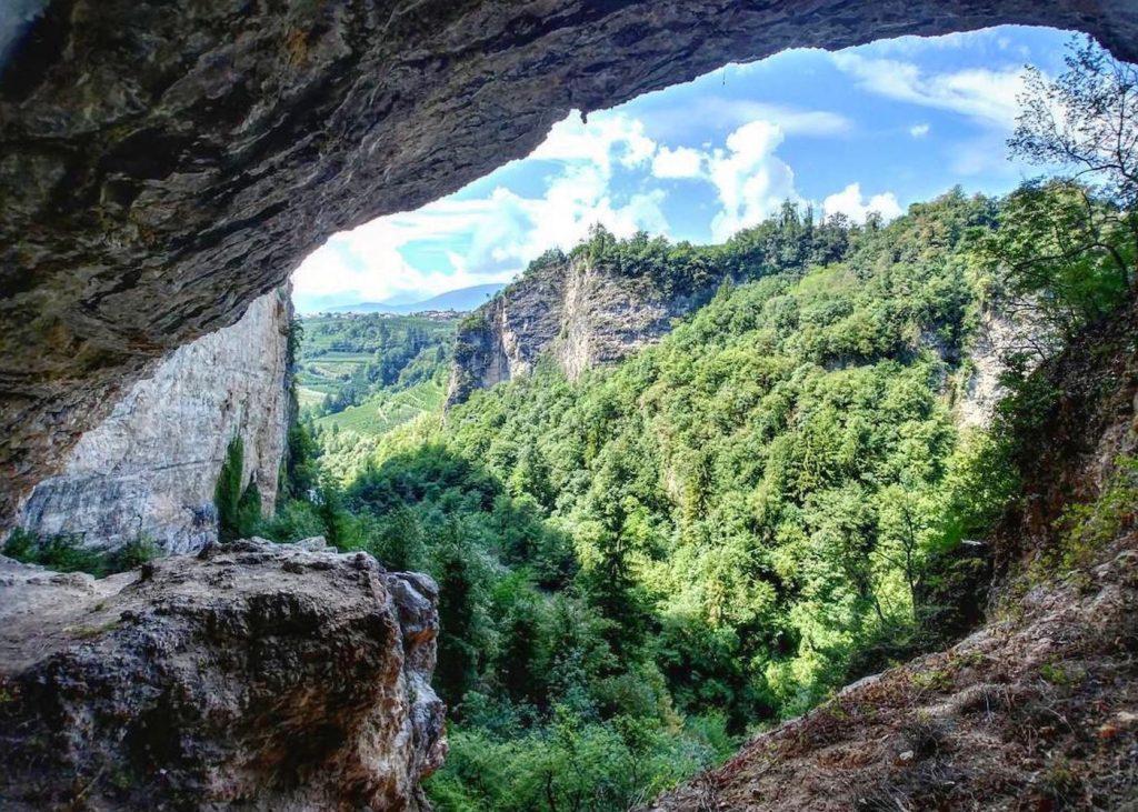 vista canyon di santa giustina