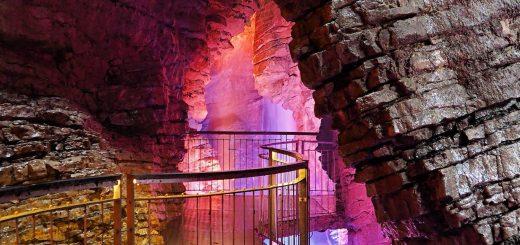 cascata del varone-canyon trentino alto adige