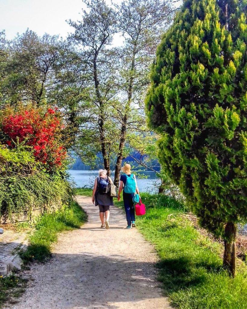lago di levico primavera