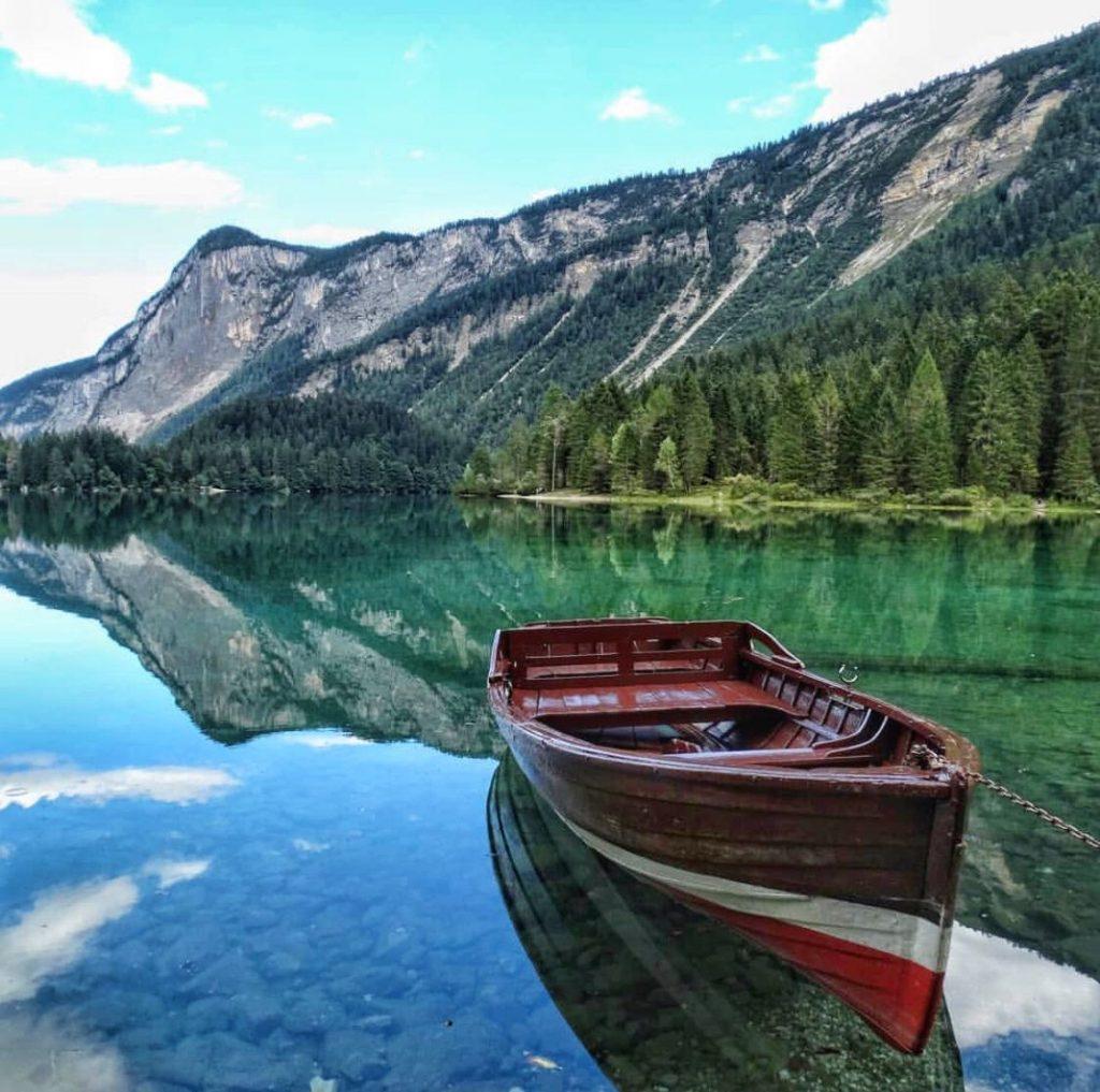 lago di Tovel-laghi in Trentino dove arrivare a piedi