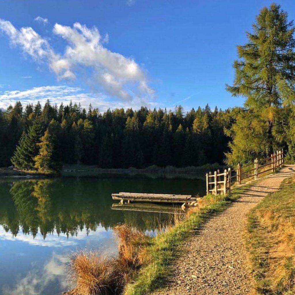 lago di Tret-laghi in Val di Non dove arrivare a piedi