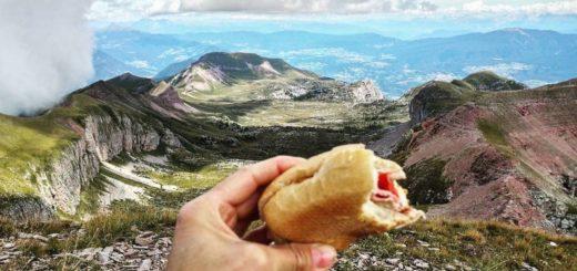 cosa mangiare e bere in montagna