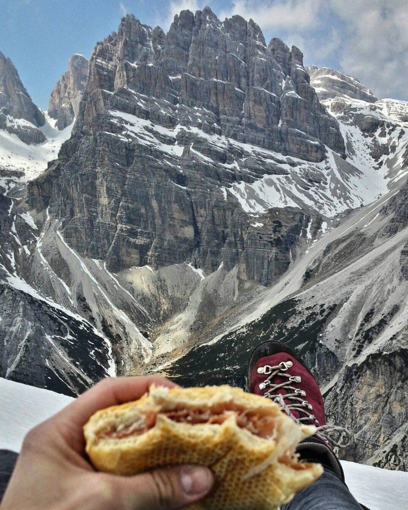 cosa mangiare in montagna-panino