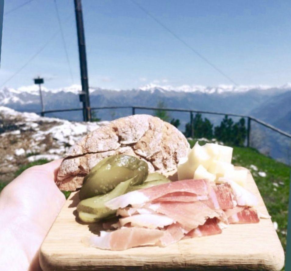 cosa portarsi da mangiare in montagna