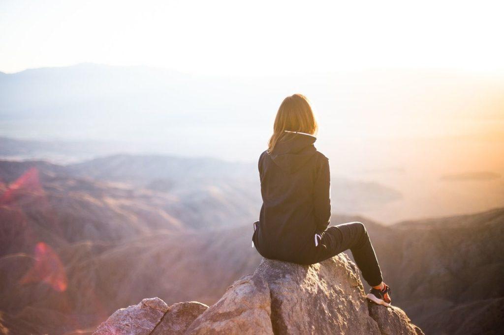 andare da soli in montagna