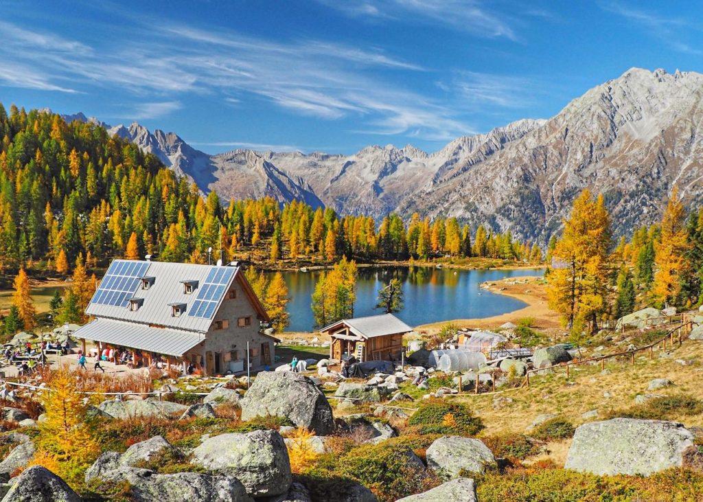 laghi di san giuliano in autunno-rifugio