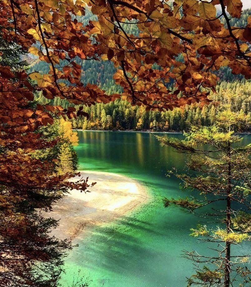 lago di tovel autunno-trentino