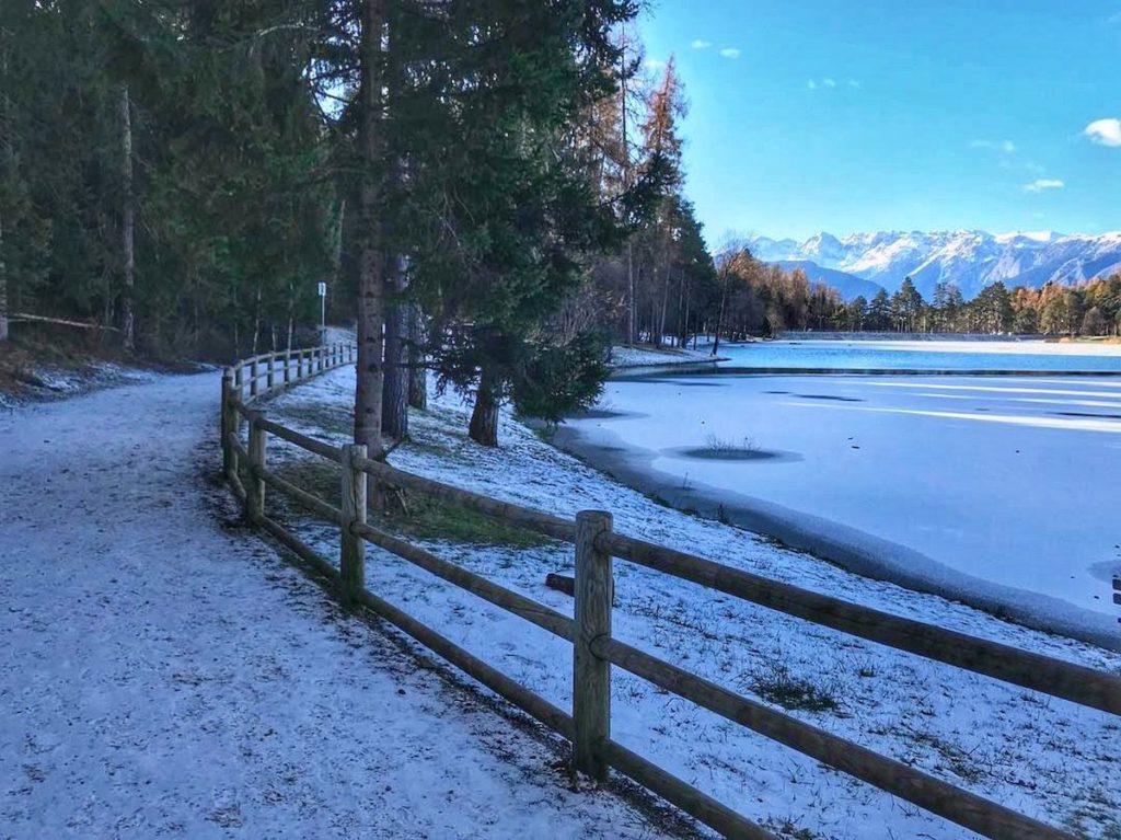 lago di coredo passeggiata