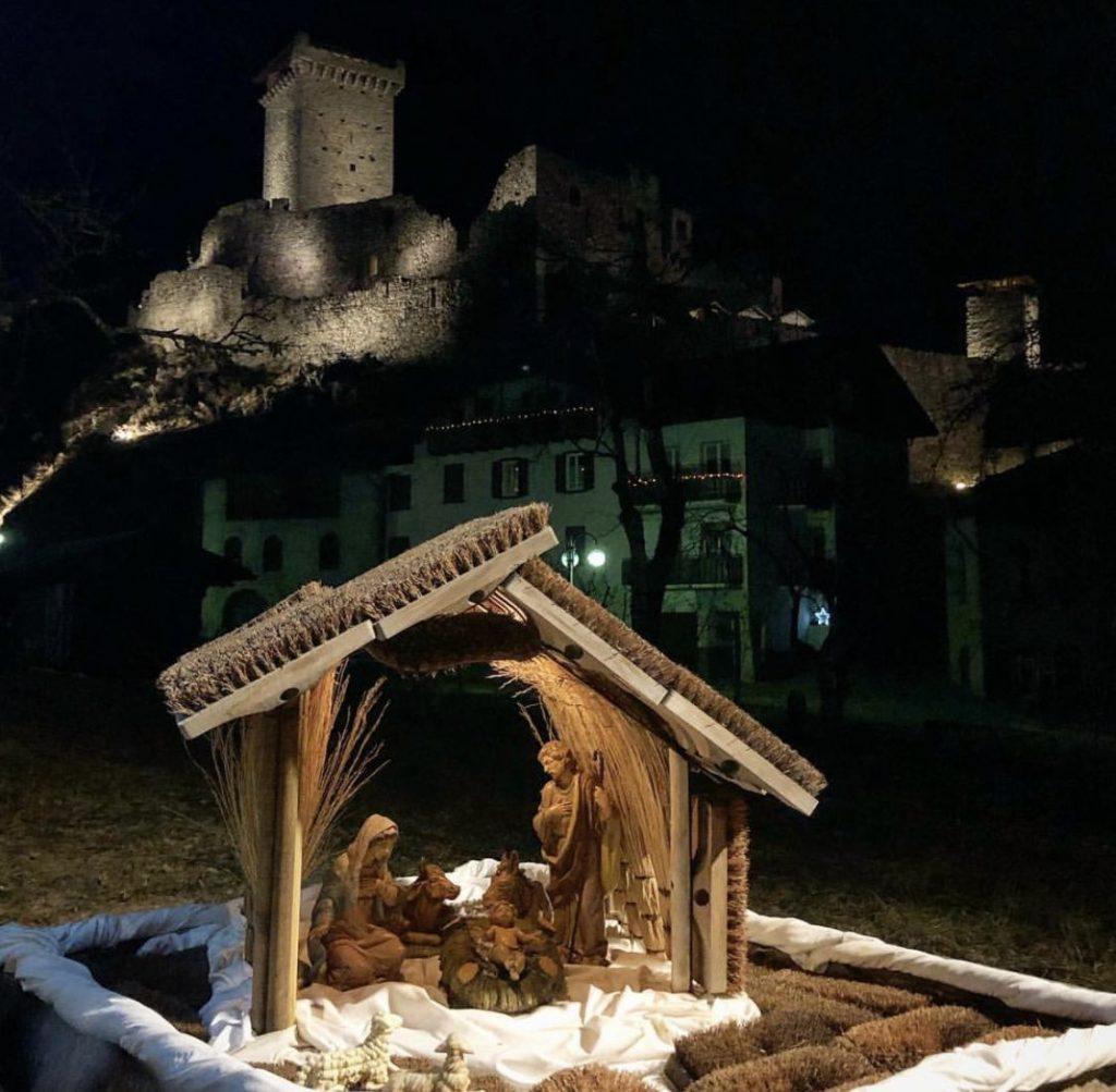 castello di ossana e presepi