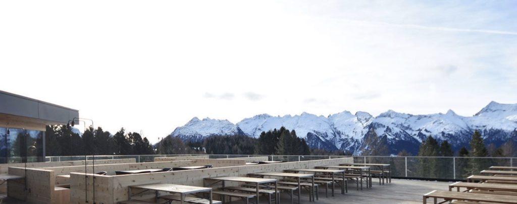 terrazze panoramiche in inverno Trentino