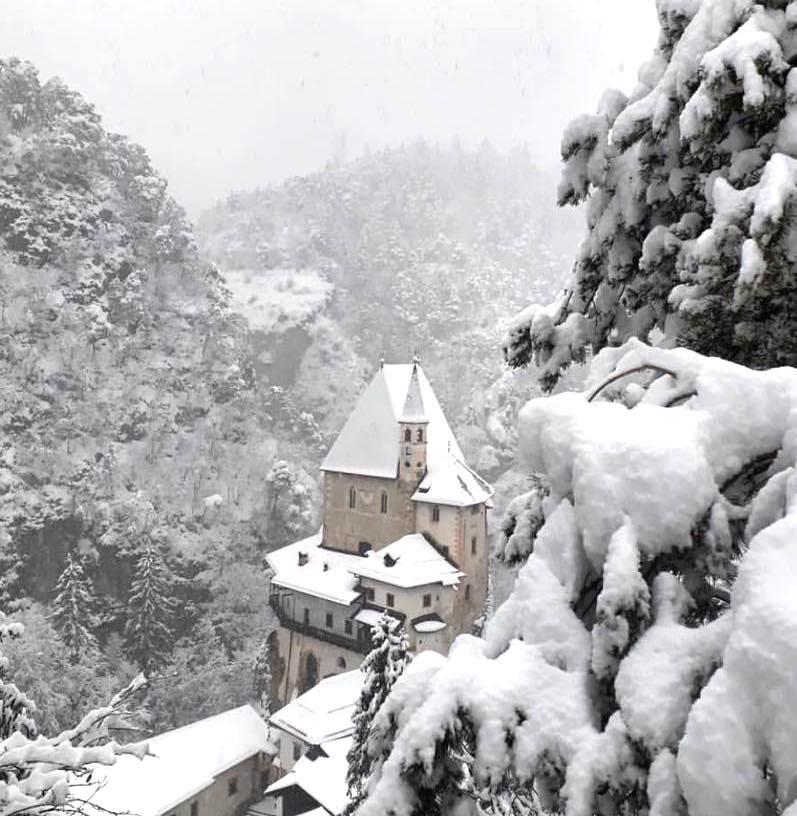 san romedio inverno