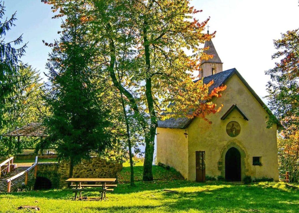 eremo e chiesa di san pancrazio val di non