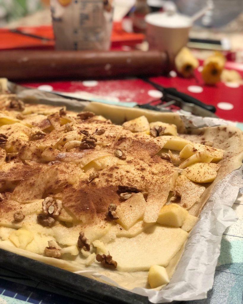 ripieno Torta di mele in 1 minuto