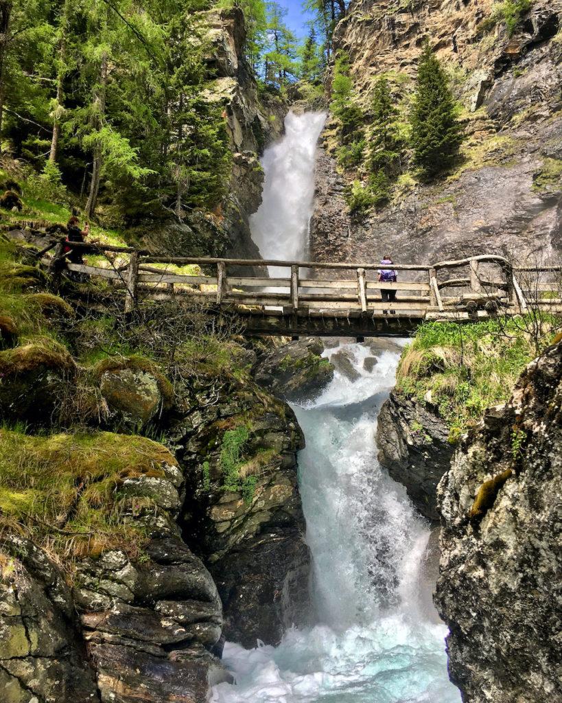 cascate di Saent