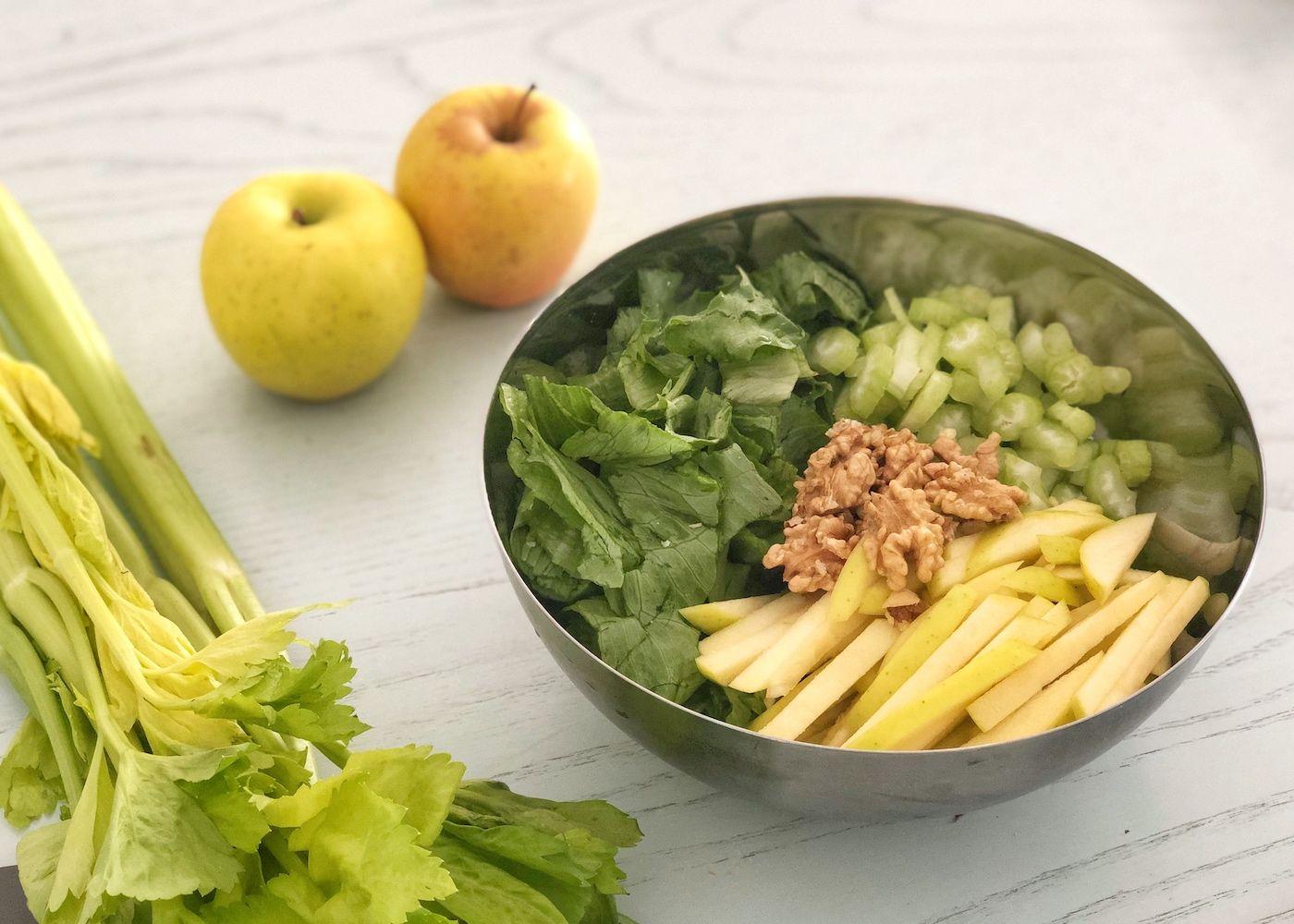 insalata con le mele