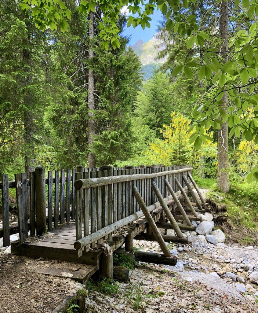 ponte per cascata risla tovel