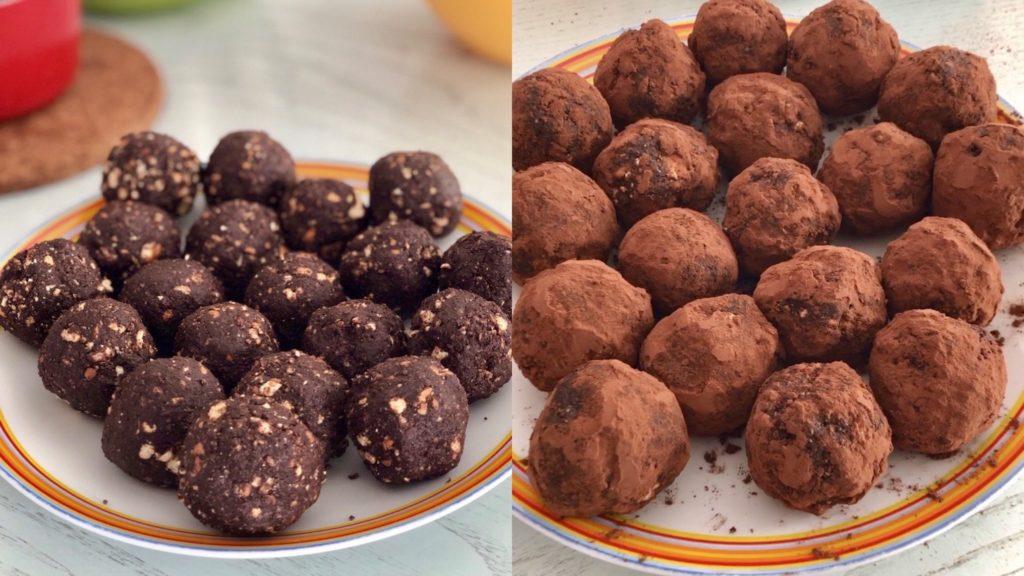 palline di cioccolato ricetta
