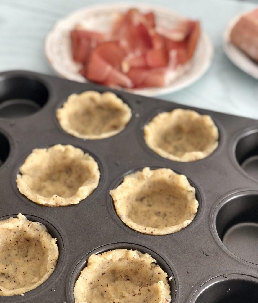 cestini di polenta muffin