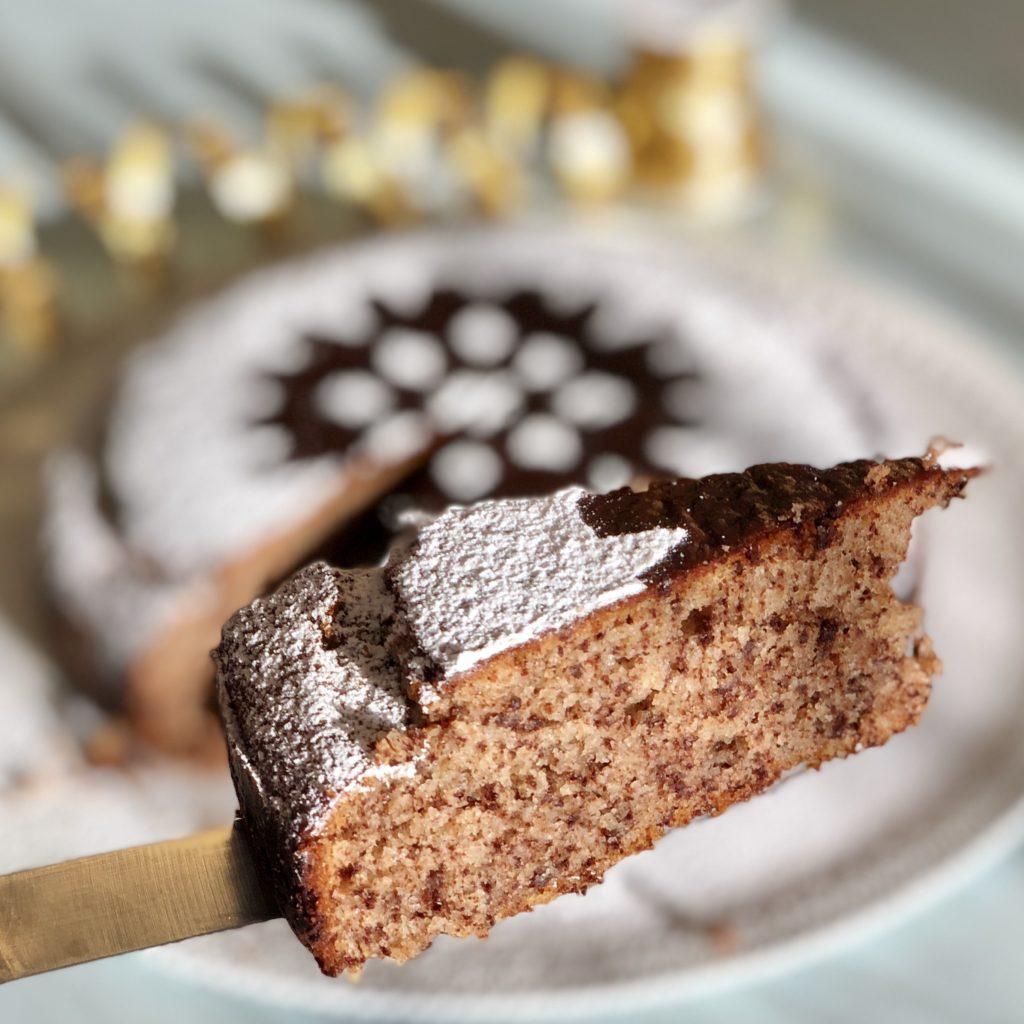 fetta torta ricotta e cioccolato