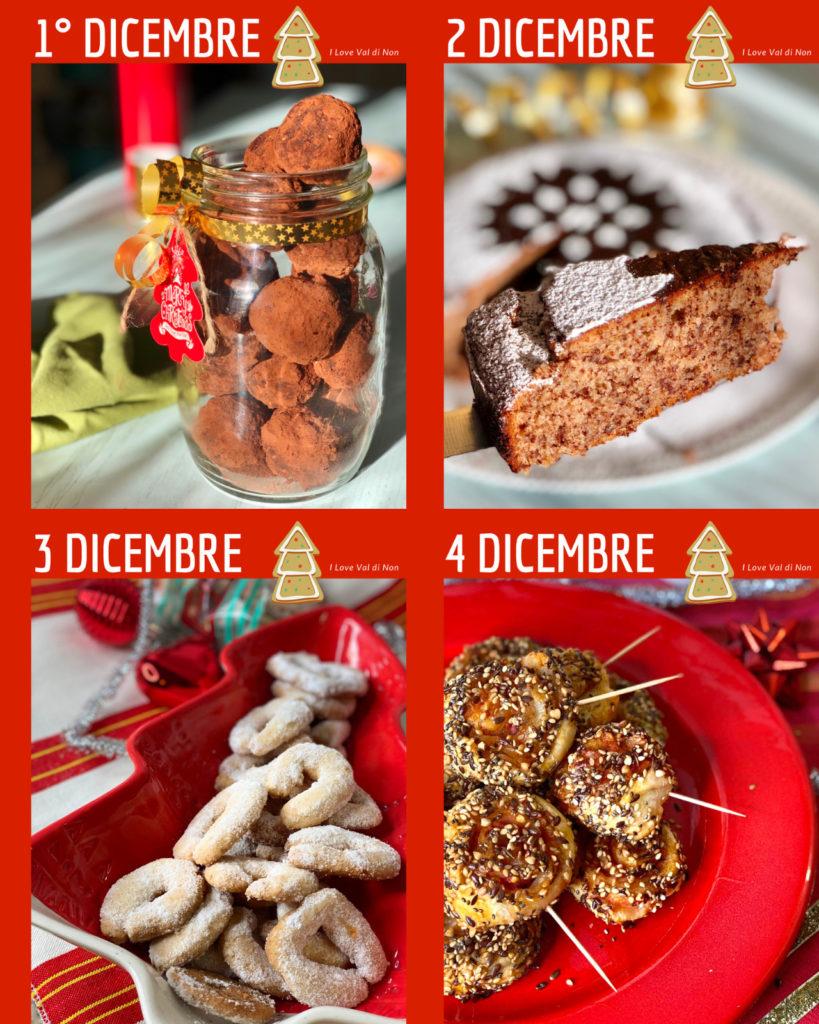 calendario avvento in cucina