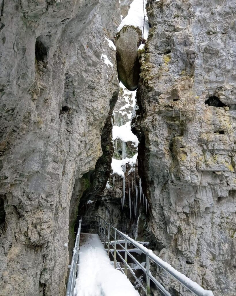 passeggiata canyon rio sass