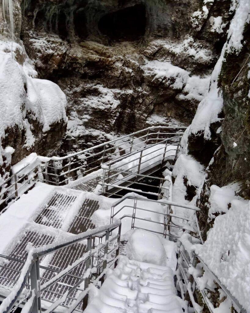 sentiero canyon rio sass