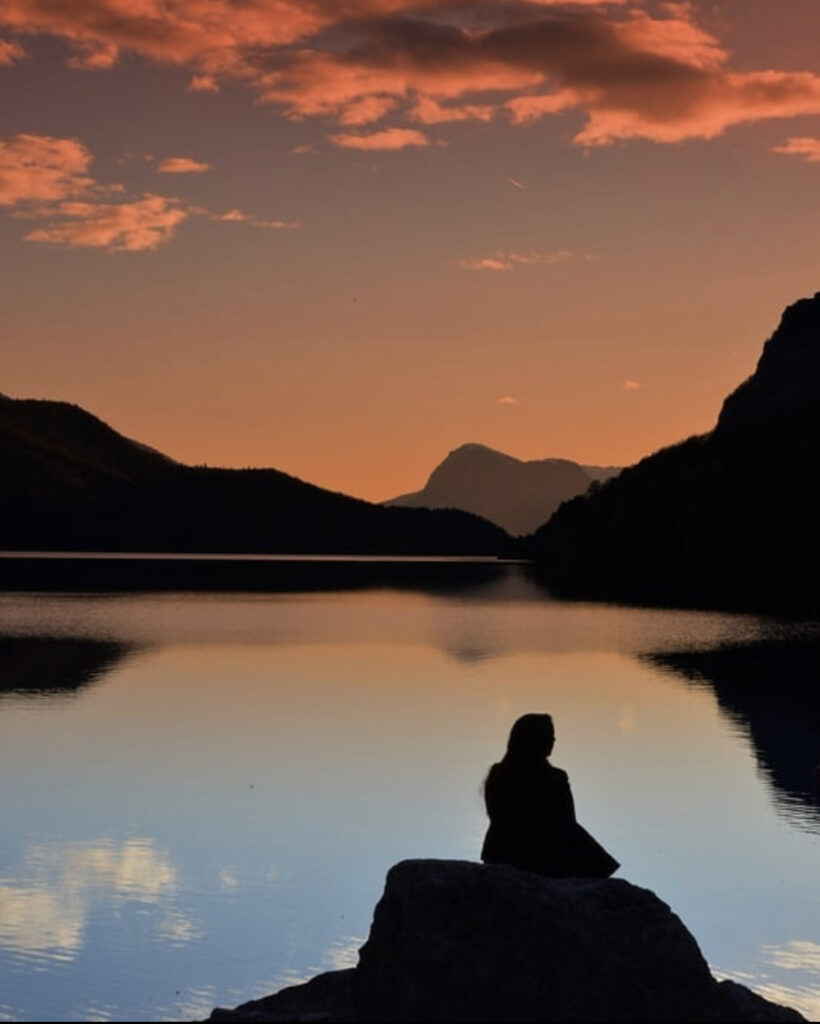 tramonto molveno-dove innamorarsi in trentino
