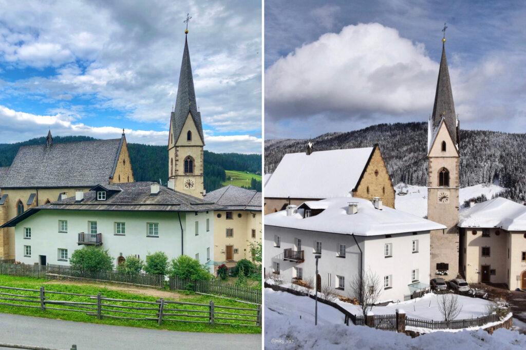 proves-paesi in val di non a confronto estate inverno
