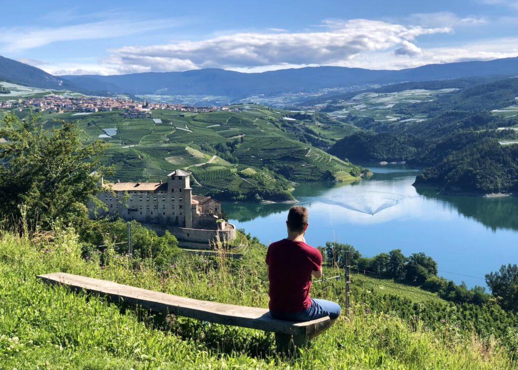 vista lago di santa giustina